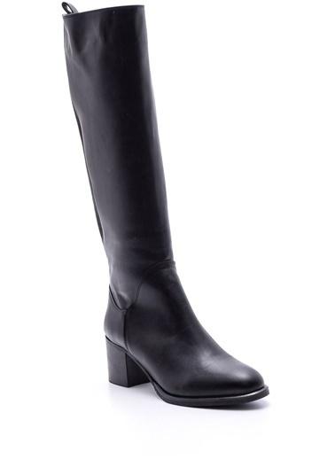 Derimod Topuklu Çizme Siyah